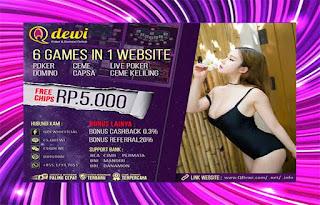 Peraturan Judi Poker Online QDewi.net