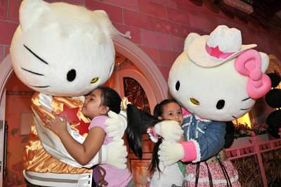 Opening of Hello Kitty in Johor