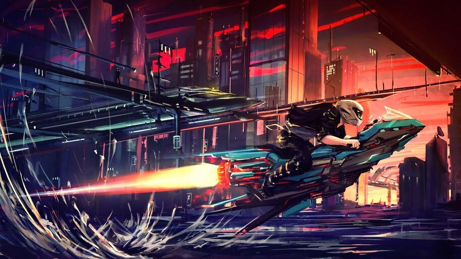 Sci-Fi, Art, City, 4K, #4.1063