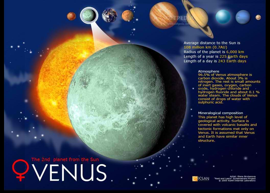 solar system venus - photo #26