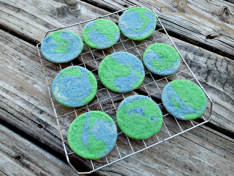 make earth cookies