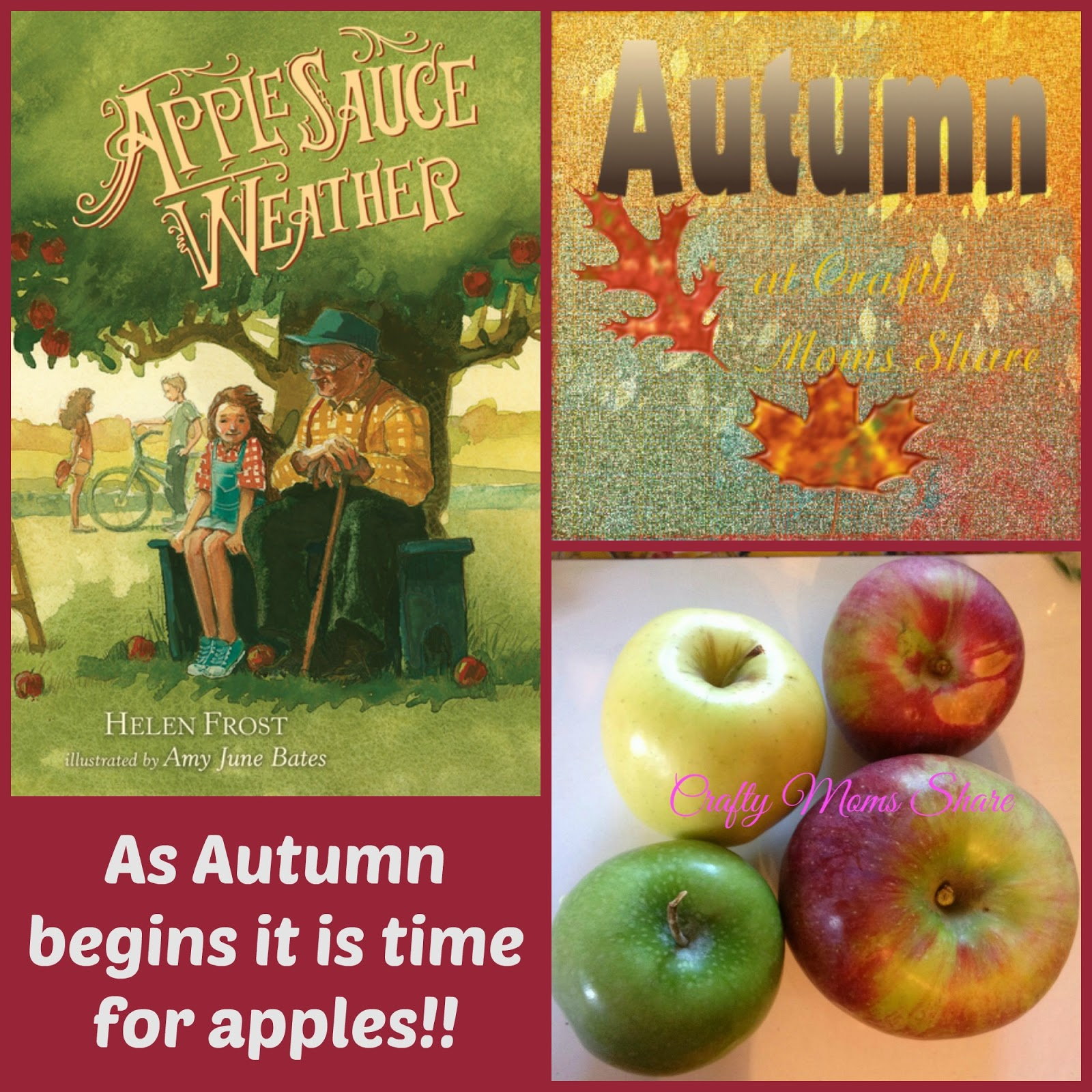 Applesauce Weather Autumn Book Review