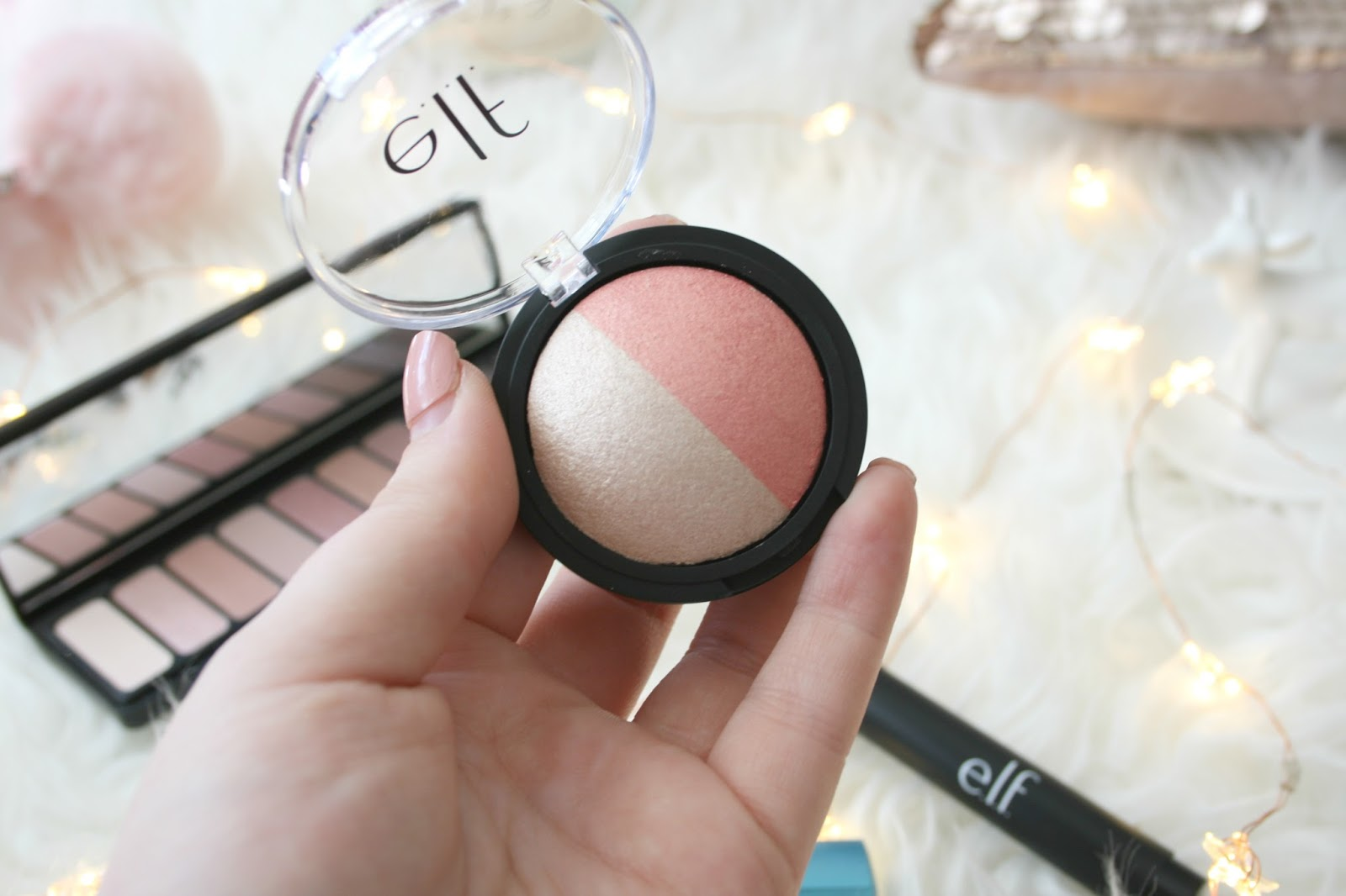 Elf Cosmetics Baked Highlighter and Blush Duo
