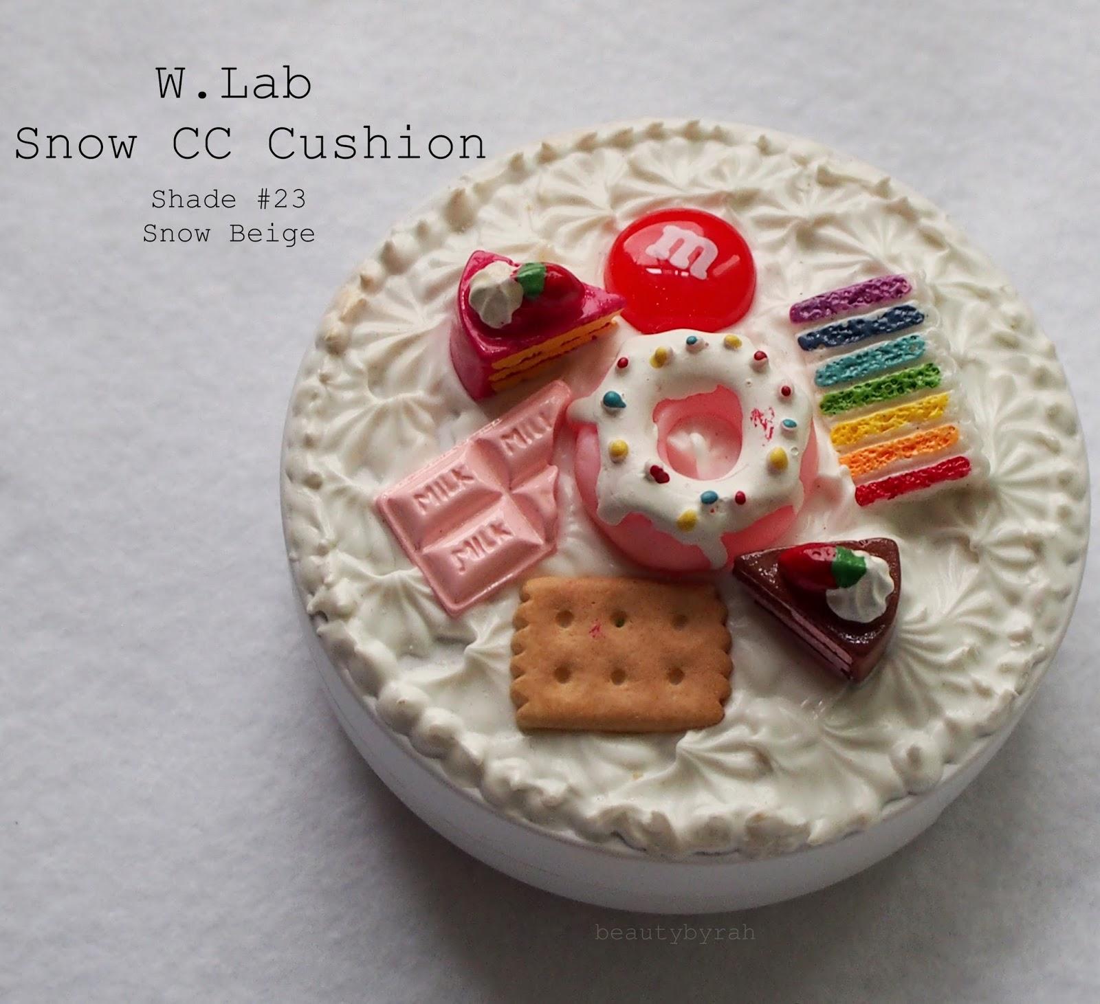 W.Lab Snow CC Cushion in #23 Snow Beige Review