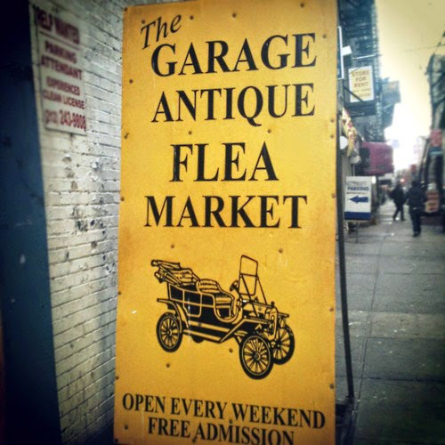 Building Collector: The Antiques Garage Flea Market in NYC