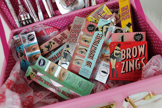 benefit cosmetics, brows, ka brow, goof proof, precisely my brow, gimme brow, 3d browtones