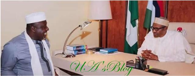 Imo APC tussle: Okorocha meets Buhari again in Aso Rock