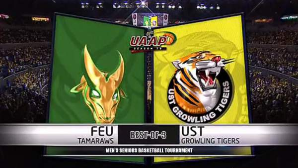 Image: FEU Tamaraws vs. UST Growling Tigers - UAAP 78 Basketball Finals