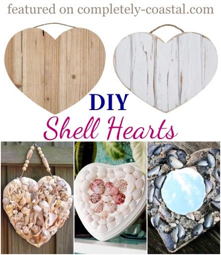 Wood Hearts Wall Decor Craft