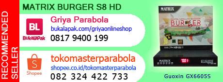 Spesifikasi dan harga Matrix Burger S8 Terbaru