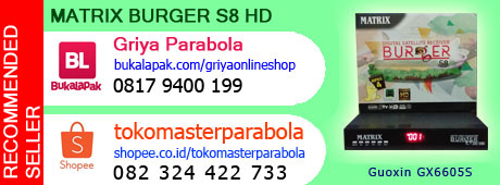 Jual Matrix Burger S8 HD Terbaru