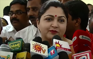 We will finalize the Number of seats with DMK in two Day – EVKS Elangovan and Kushboo