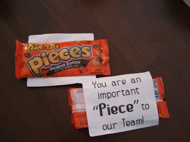 Employee Appreciation Candy Gifts