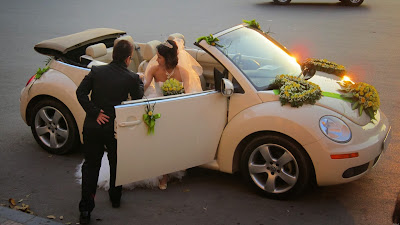Cho thuê xe cưới VolkaWagen Beetle tại Hà Nội