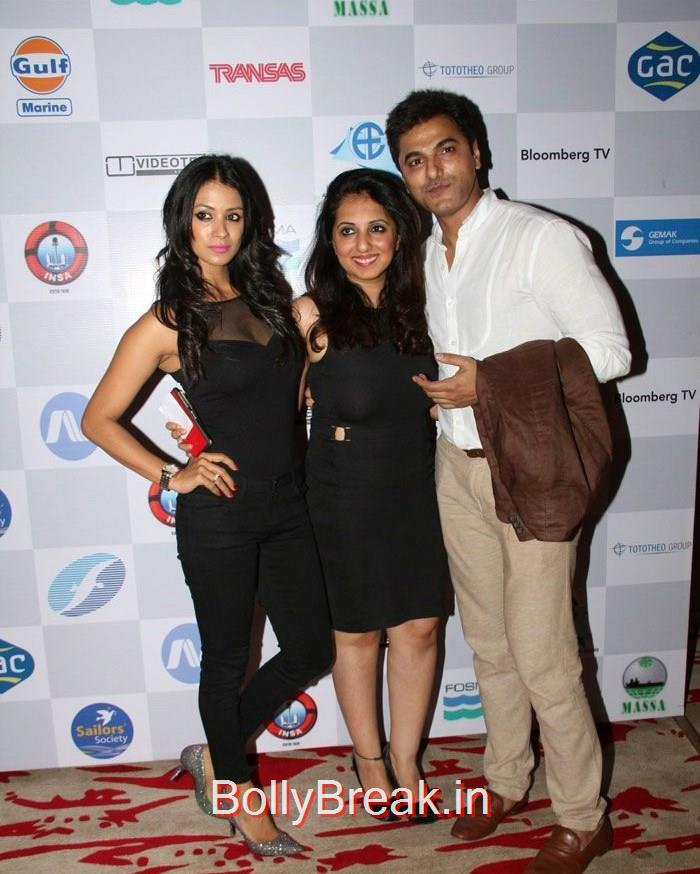 Barkha Bisht Sengupta, Nisha Khatwa, Anand Suryavanshi, Celebs At 14th Sailor Today Seashore Awards 2015