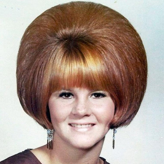Fotografias relembram os estilos de cabelos femininos dos anos 60 e 70