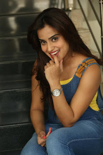 Actress Dimple Chopade Latest Pictures in Jumpsuit at Krishnashtami Success Meet  0039.jpg