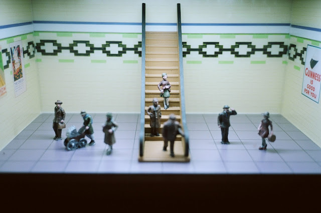 BAKERLOO LINE STATION 2011 © VAC MUSEUM OF LONDON, MINIATURE, MODEL RAILWAY, LONDON TRANSPORT, TRANSPORT FOR LONDON, TFL