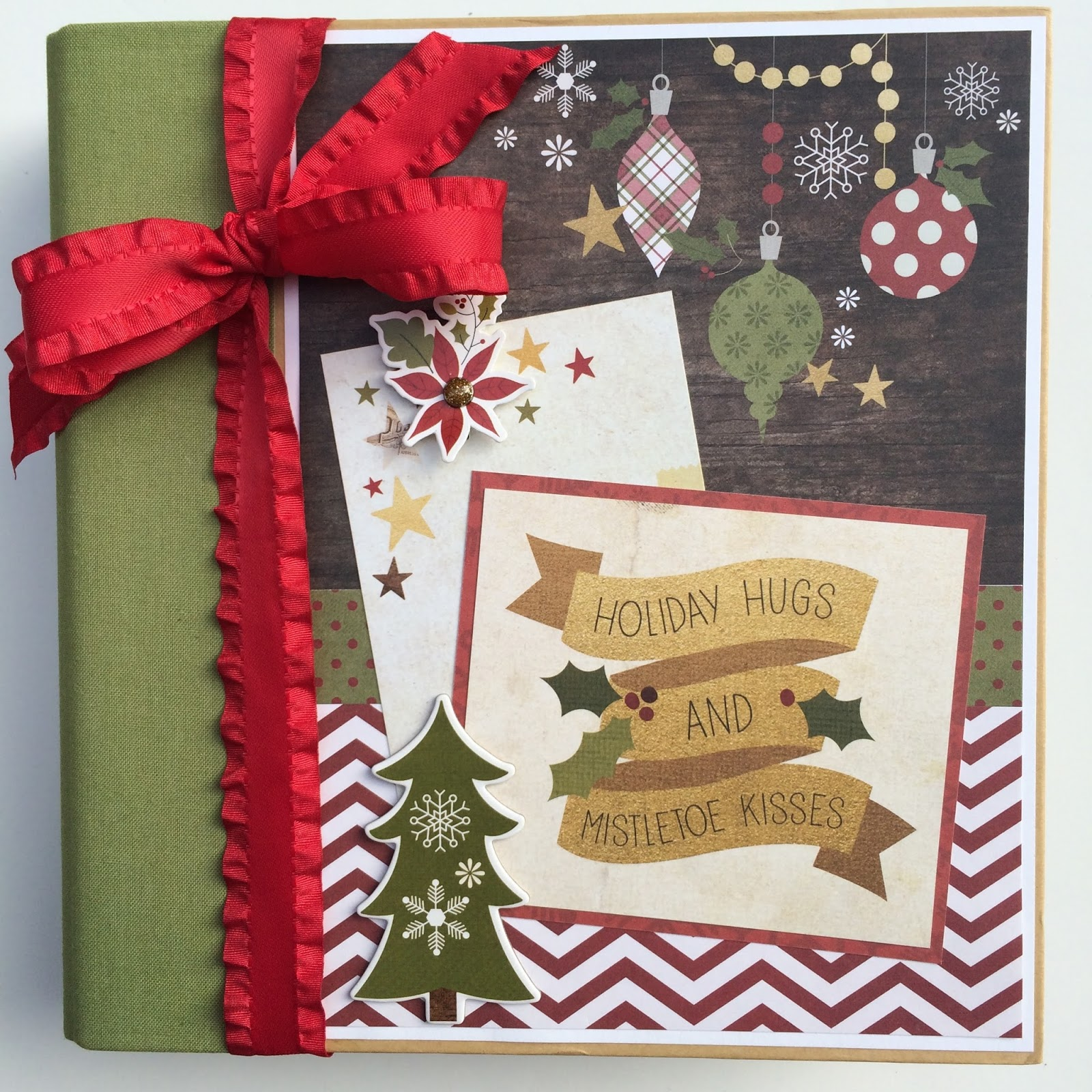 Loads of Christmas Cheer Scrapbook Page Kit