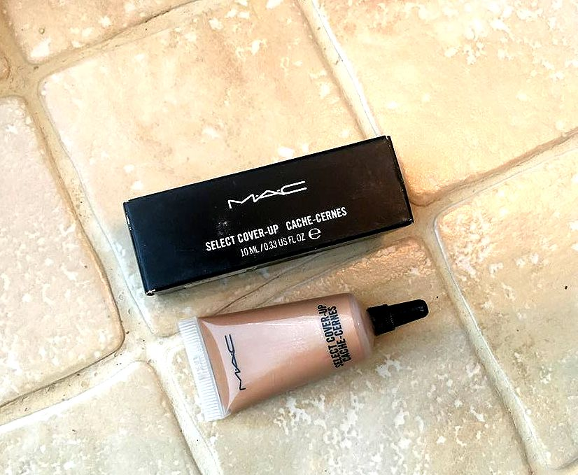 MAC Select Cover-Up Concealer Used As Liquid Contour; An Experiment
