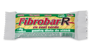 Comanda online de aici Fibrobar cu ceai verde ideal in diete de slabit