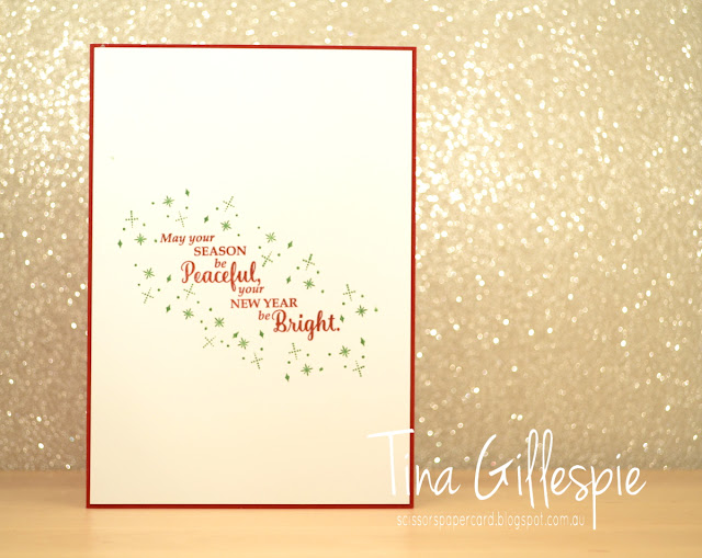 scissorspapercard, Stampin' Up!, Carols Of Christmas, Merry Music SDSP, Star Of Light