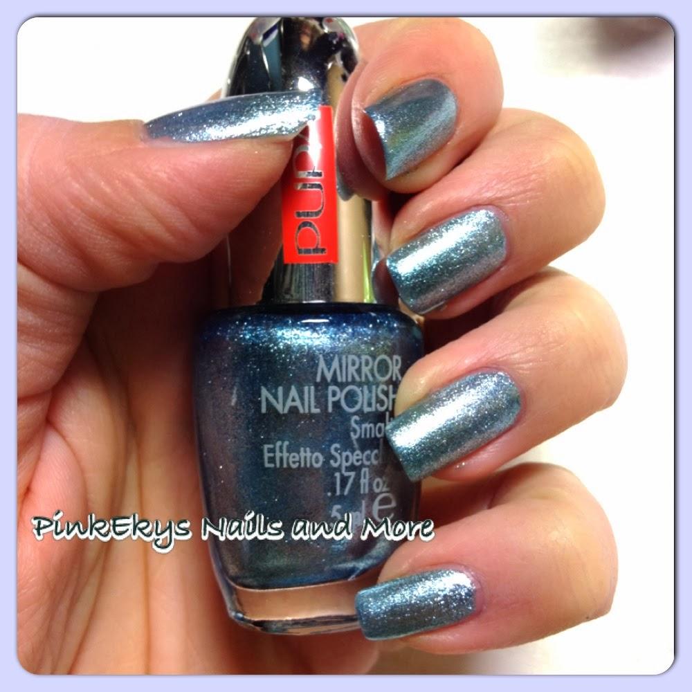 Pinkekys nail tutorial easy mirror nails - Specchio ad unghia ...