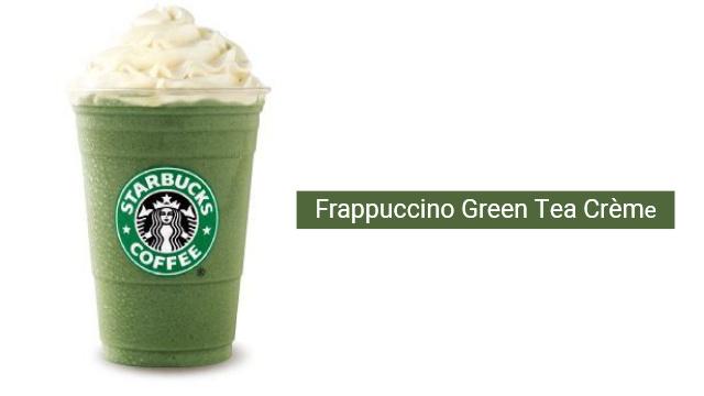 Frappuccino Green Tea Crème