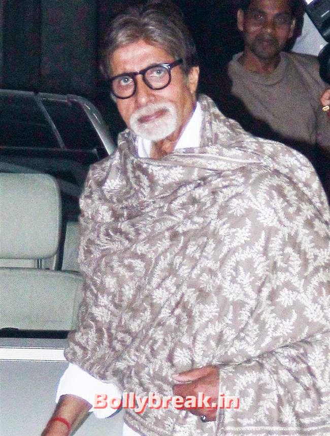 Amitabh Bachchan, Amitabh Bachchan at Bhoothnath Returns Special Screening
