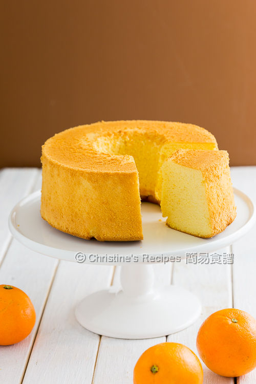 橙汁戚風蛋糕 Orange Chiffon Cake02