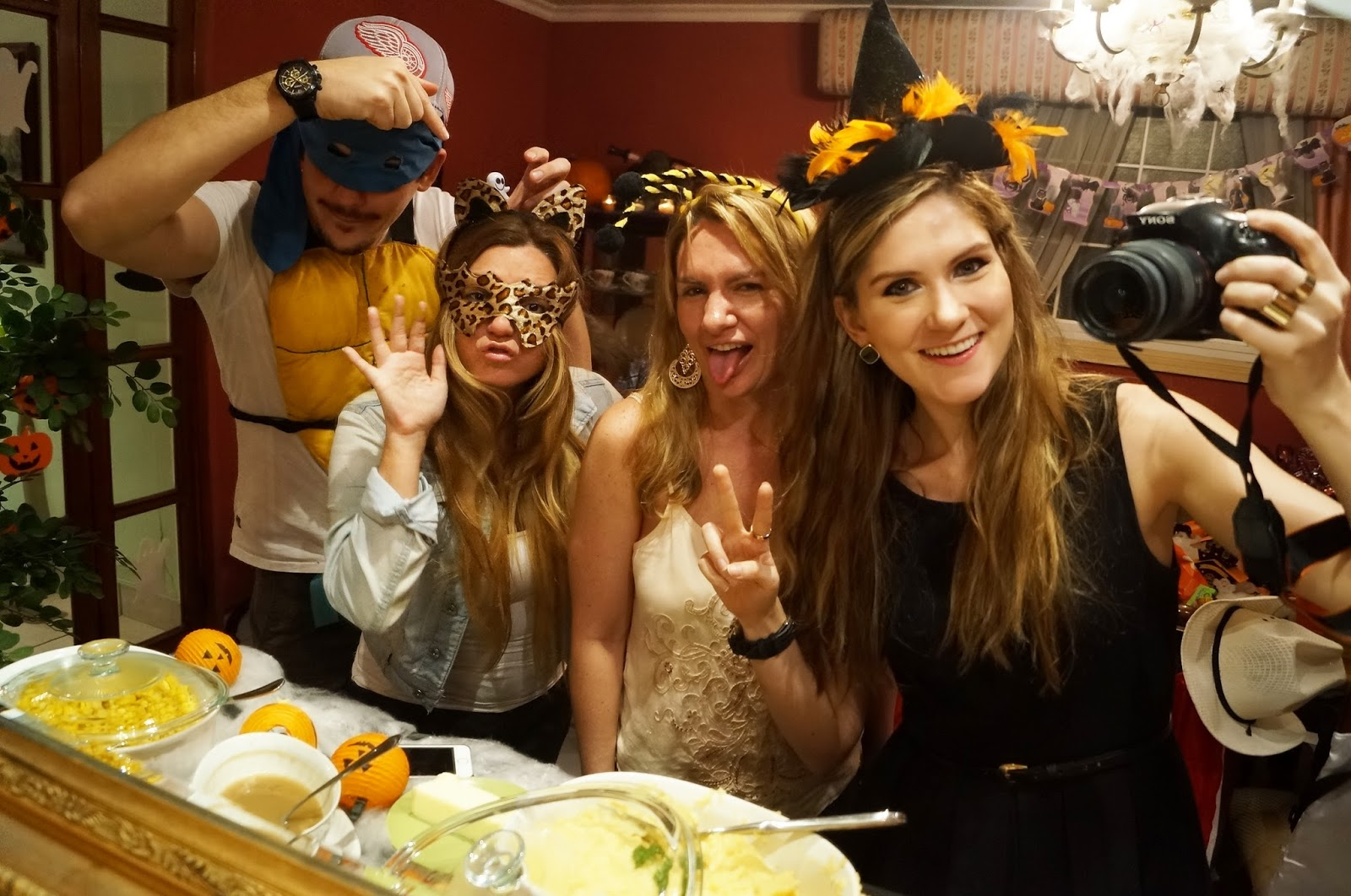 Family Halloween Dinner Party