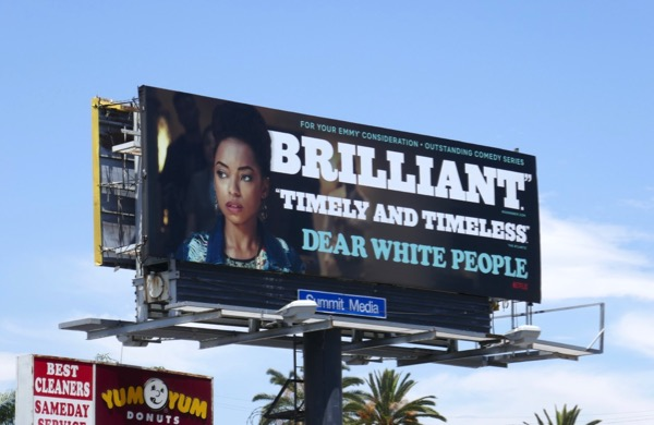 Dear White People season 2 Emmy FYC billboard