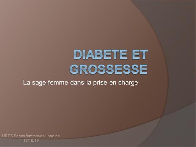DIABÈTE ET GROSSESSE .pdf