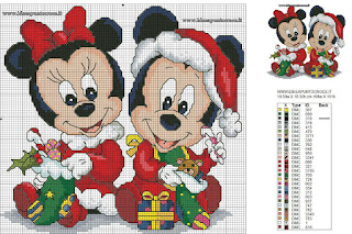 Topolino E Minnie Kit Per Biscotti Topolino E Minnie Natale With