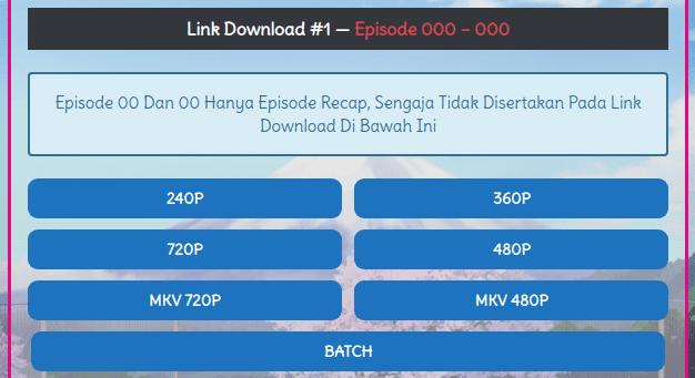Membuat Download Box seperti Meownime