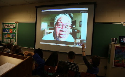 Students Interview Joyce Hansen, Author of The Captive [Video]