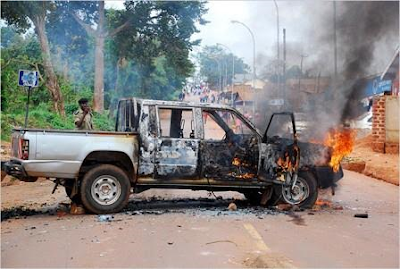 Photos: Police arrest Ugandan king over deadly clash which killed at least 55