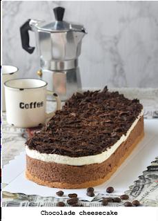 Heerlijk cheesecake met een vleugje koffie dat accentueert de smaak van de chocolade. Met een bodem van Bastogne- en San Francisco koekjes en afgewerkt met slagroom en chocolade snippers.