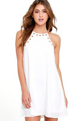 Vestidos blancos para primavera