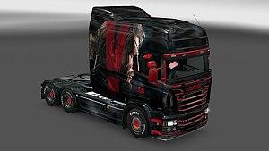 Scania RJL Metal Gear Solid V Skin