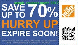 Home Depot coupons march 2017