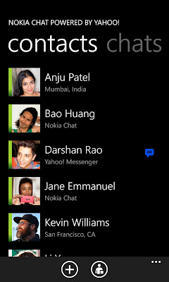 Nokia Chat for Windows Phone