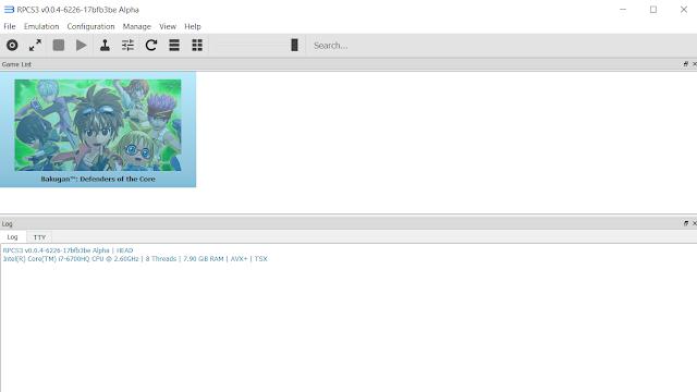 Tutorial RPCS3 Emulator PS3