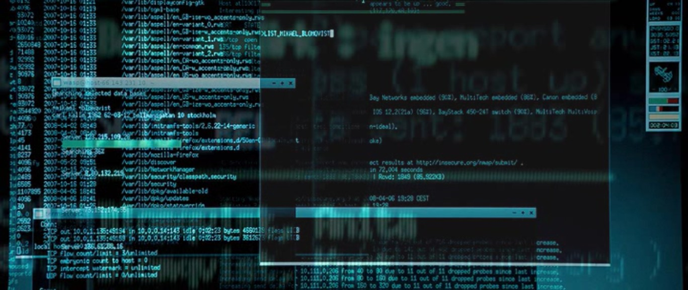 The Girl with the Dragon Tattoo nmap cameo