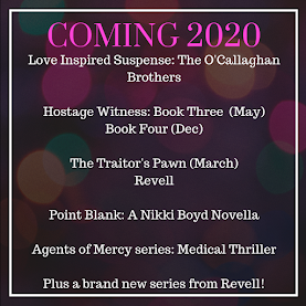 Romantic Suspense Coming 2020