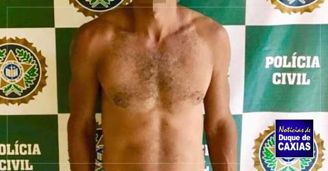 Homem acusado de roubar loja da Tele Rio é preso em Duque de Caxias