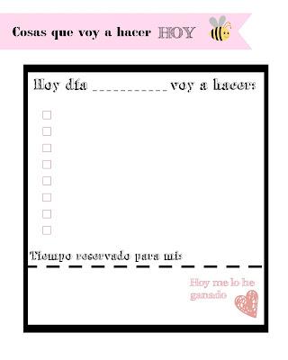 planificador diario descargable gratuito rosa