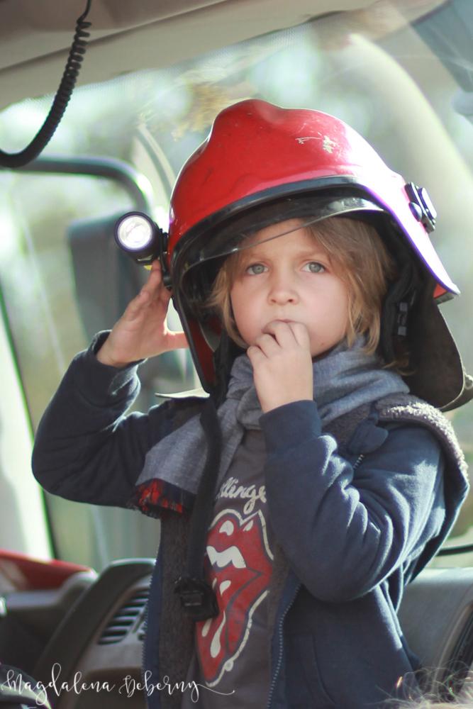 I ja chcę zostać strażakiem