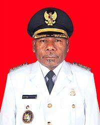 Mathius Awoitauw Bupati Jayapura