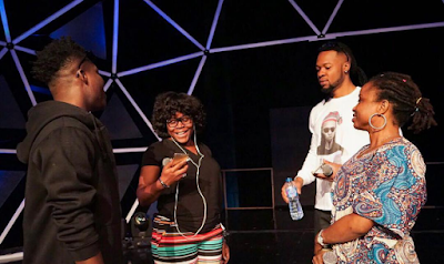 Reekado Banks, Flavour, Ego and Omawumi rehearse ahead of event #GloCAFAwards